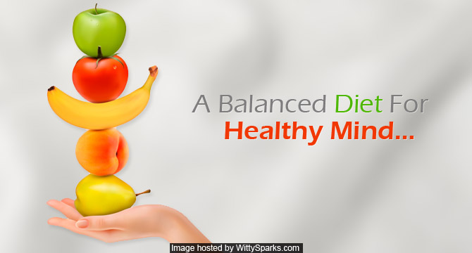 Balanced diet to keep your mind healthy