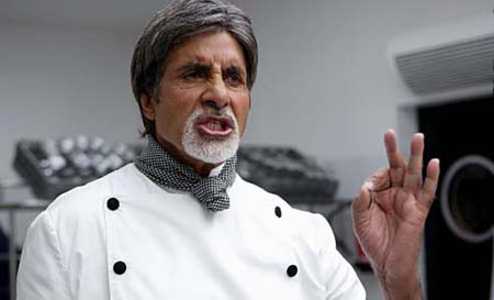 Amitabh Bachan as a chef in UK