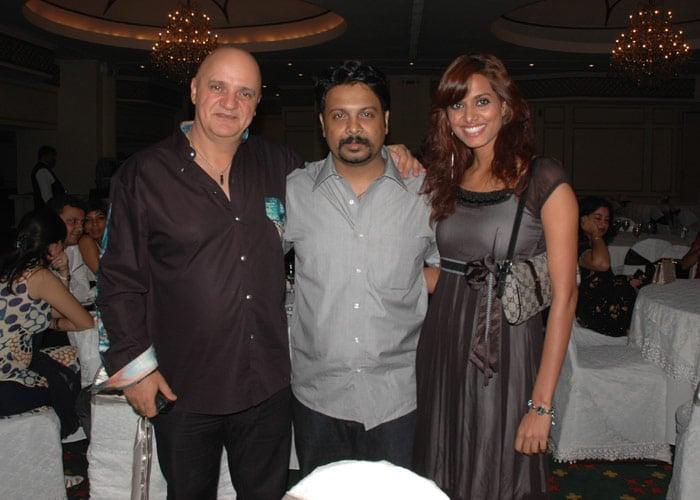 Sandeep Chowta with Gambale and Model Ritu.