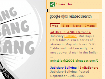 Google AJAX Related Search Plugin for WordPress