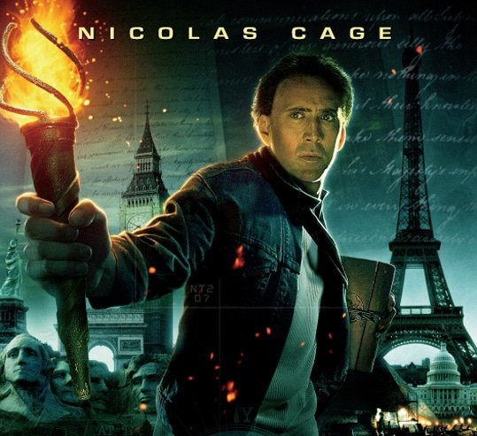 Nicolas Cage - National Treasure: Book of Secrets