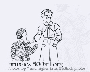 500ml: Brushes