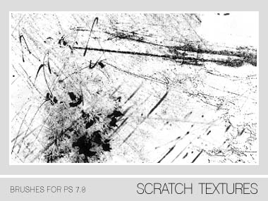 Scratch Texture Brushes PS 7.0