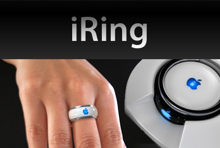 iRing - Bluetooth Ring Concept by Victor Soto