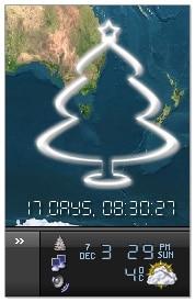 Desktop Free Snow Christmas Tree