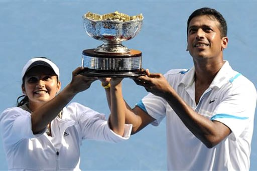 Sania Mirza and Mahesh Bhupathi - Image Courtesy TheJakartaPost.com