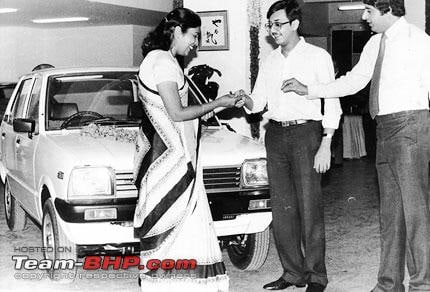 Maruti 800 Launch