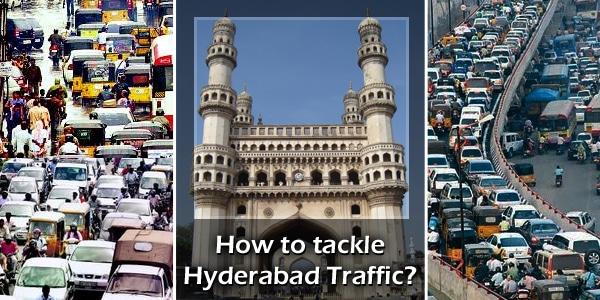 Hyderabad, INDIA Traffic