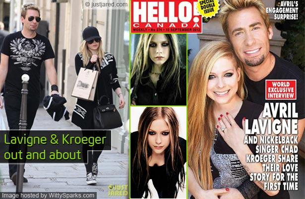 Avril Lavigne set to marry again!Witty Sparks | Witty Sparks Avril Lavigne And Chad Kroeger Engagement Ring