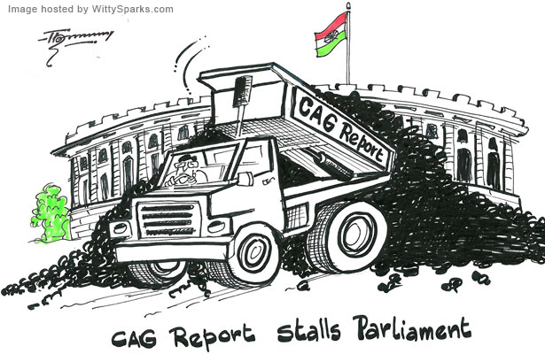 What is the fate of the Indian Government after the CAG Report?