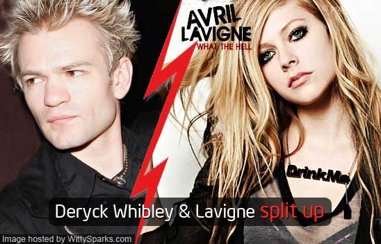 Deryck Whibley and Avril Lavigne Split Up