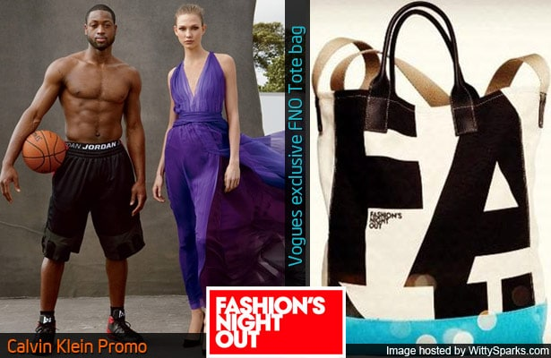 Calvin Klein and Vogues Fashion's Night Out Tote Bag