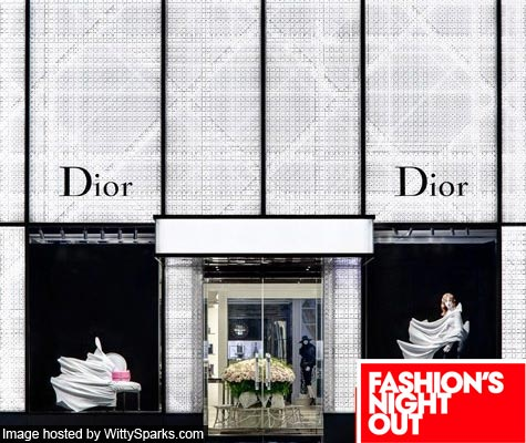 Dior Boutique Promo for Fashion's Night Out