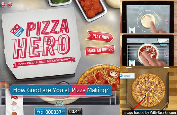 Make Domino's Pizza on your iPad - Pizza Hero Game