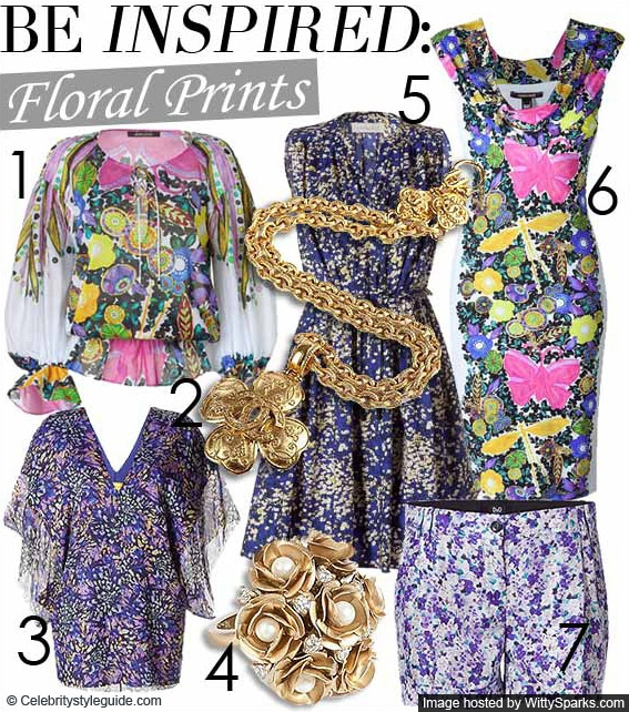 Floral Prints - Fashion Trends