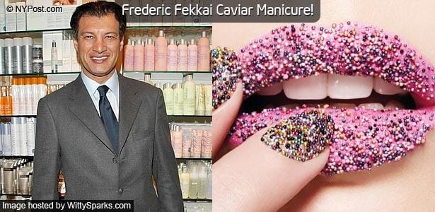 Frederic Fekkai Caviar Manicure!