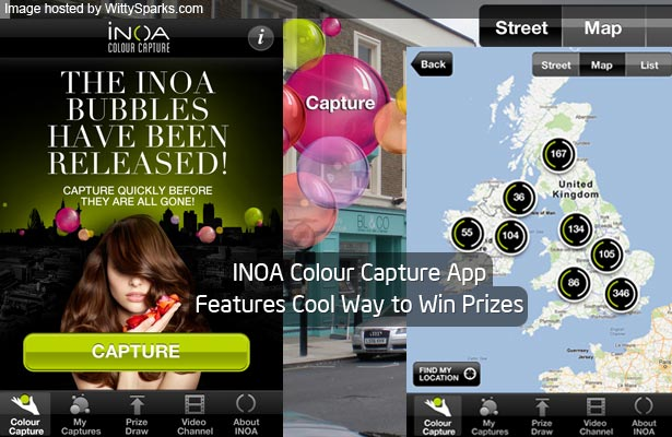 INOA Colour Capture App Features Cool Way to Win Prizes