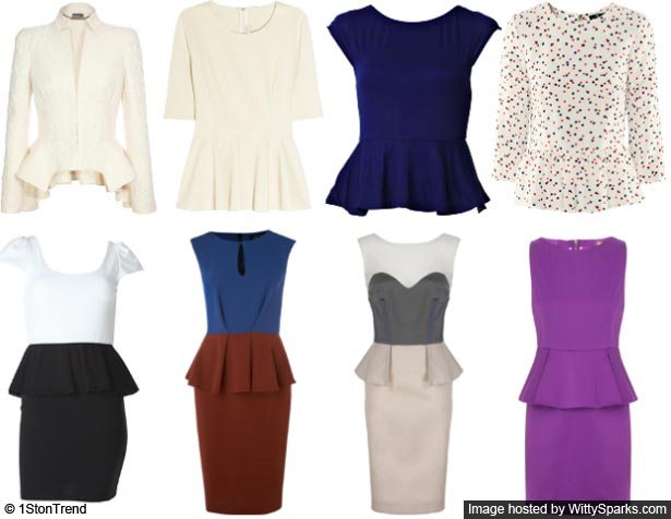 Peplum Party - Fashion Trends