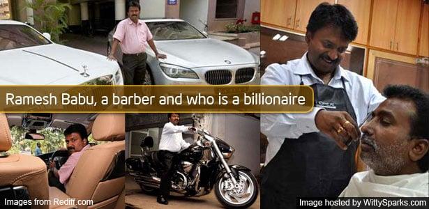 Ramesh Babu doing what he loves most
