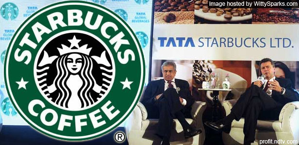 The famous Starbucks now in India as TATA Starbucks Ltd.