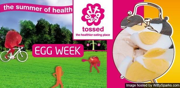 UK's Tossed celebrates British Egg Week starting on the 1st of October!