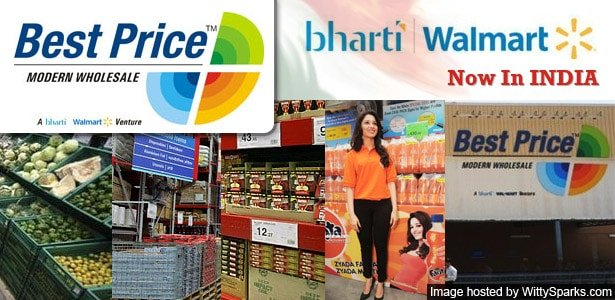 Best Price - A Bharti Walmart Venture in INDIA - Modern Wholesale