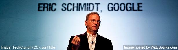 Eric Schmidt - Google CEO