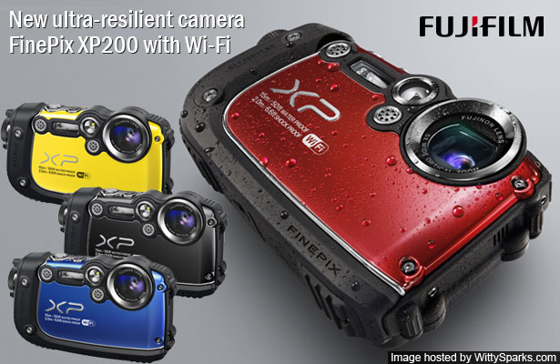 Fujifilm launches new ultra-resilient camera FinePix XP200 with Wi-Fi