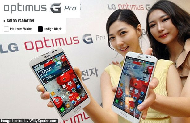 LG Optimus G Pro Specifications