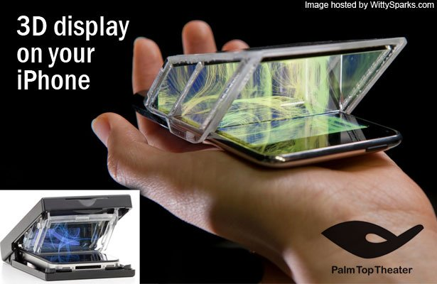 Palm Top Theater - 3D Display for iPhone