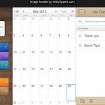 Awesome App APK installed in Samsung Galaxy Note 2 - Calendar Events