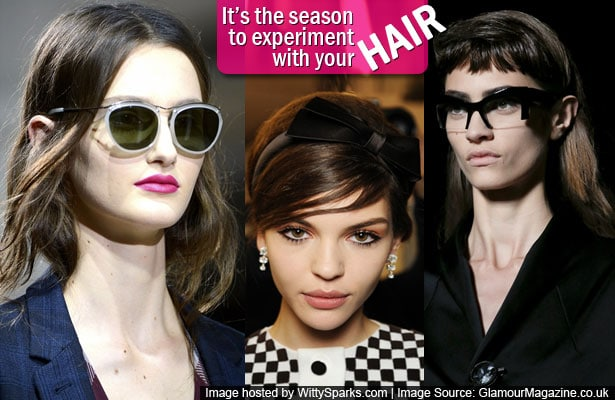 It's the season to experiment with your hair