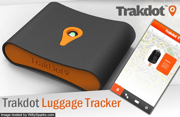Trakdot Luggage Tracker, Track Lost Luggage, Airline Baggage, Air Travel, Flight