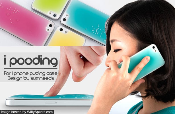 i pooding - for iPhone puding case designed by Sumneeds