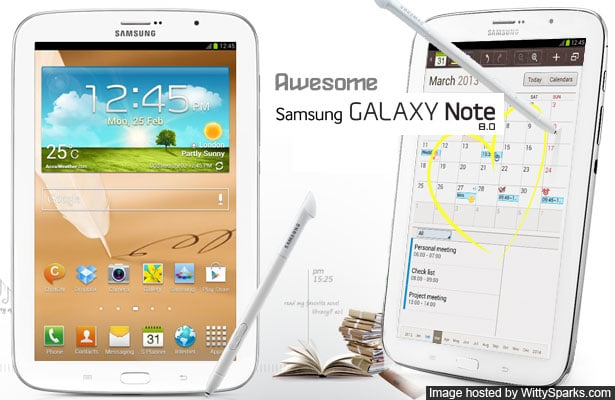 Samsung Galaxy Note 8 - Phablet