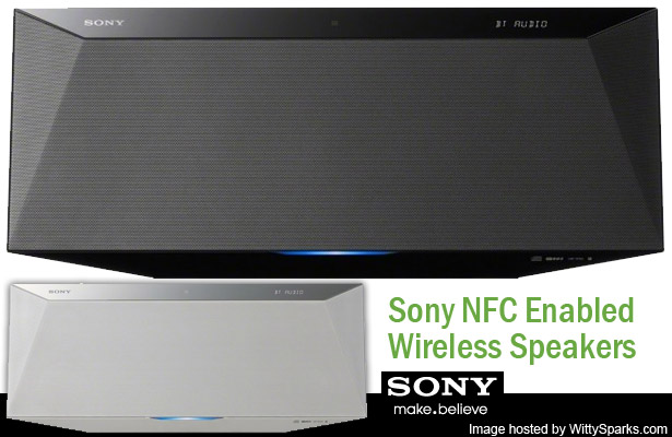 Sony NFC Enabled Wireless Portable Speakers