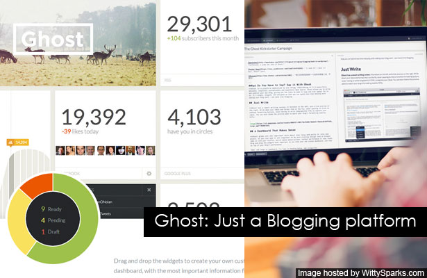 Ghost: Just a Blogging Platform