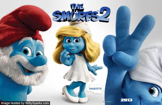 THE SMURFS 2 (3D) Movie