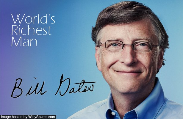 bill gates richest man in the world commerce essay Bill gates and microsoft essay  the changing of the world's richest man  bill gates: the real most interesting man in the world.