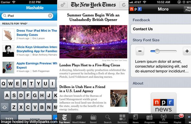 Free iPhone News Apps