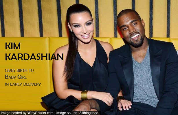 Kim Kardashian gives birth to Baby Girl