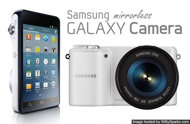 Samsung Mirrorless Galaxy Camera 2