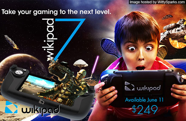 WikiPad Tablet Gaming Console