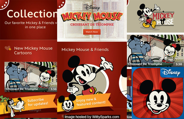 Mickey Mouse, Disney - iOS App