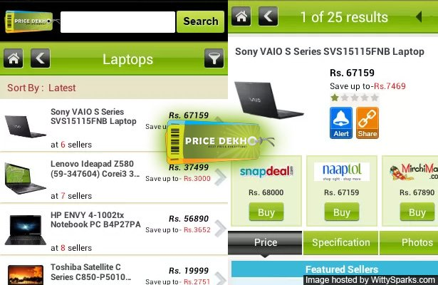 PriceDekho Launches Android App for Price Comparison