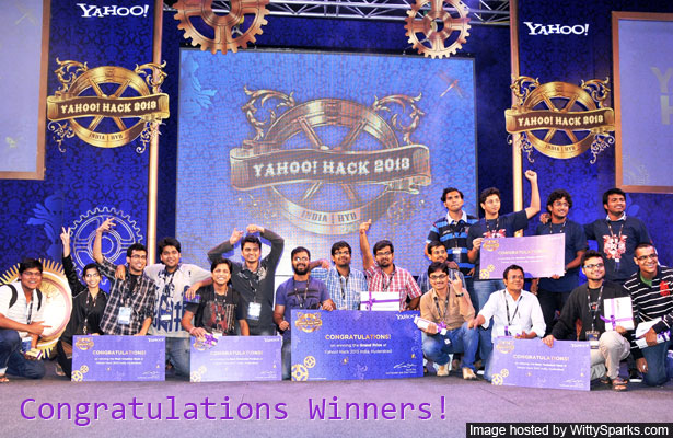 Yahoo! Hack India Hyderabad Winners Announced
