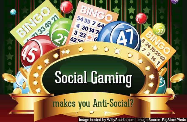 Social Gaming making you Anti Social?