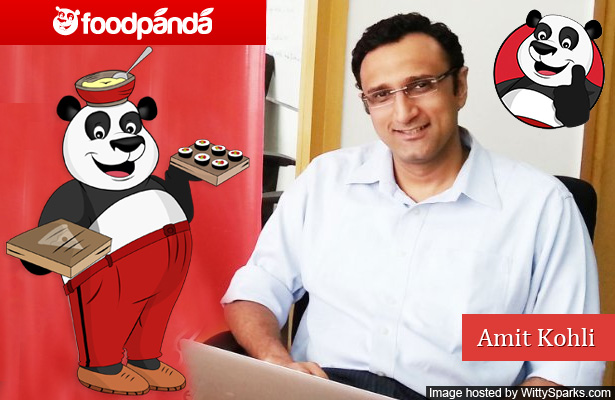 Amit Kohli says order food online now in India from Foodpanda