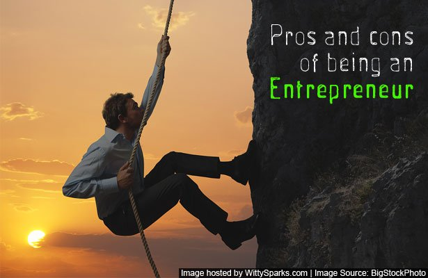 Top pros and cons of being an entrepreneur