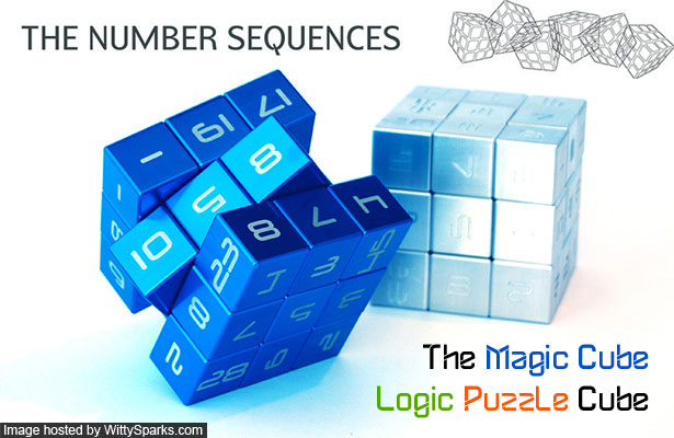 Logic Puzzle Cube - The Magic Cube